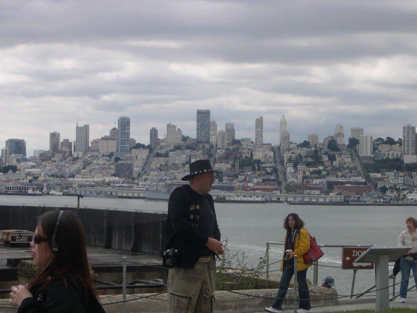 Alcatraz adasindan San Francisco.JPG